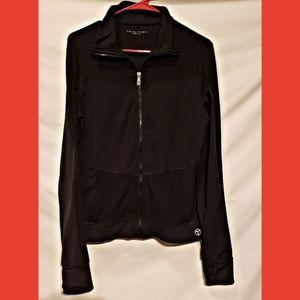 Trina Turk black jogging jacket. Size large.